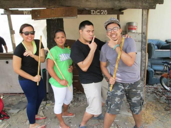 Combat Kali Manila Balintawak Street Training