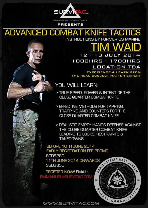 Tim Waid seminar 2014 in Singapore