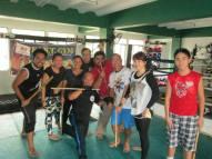 Master V and Combat Kali Manila