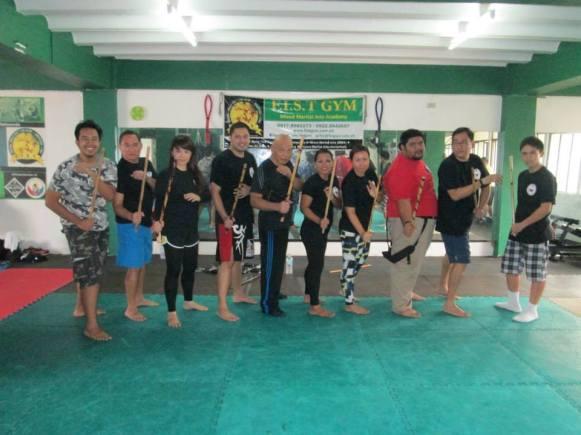Master V Balintawak seminar Manila