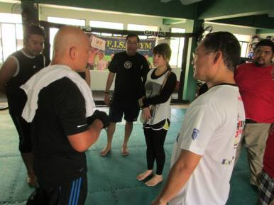 Master Virgil Balintawak seminar Manila