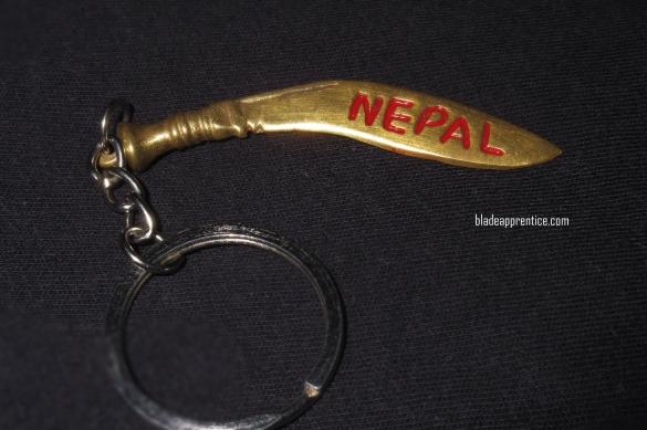 Nepal kukri key ring