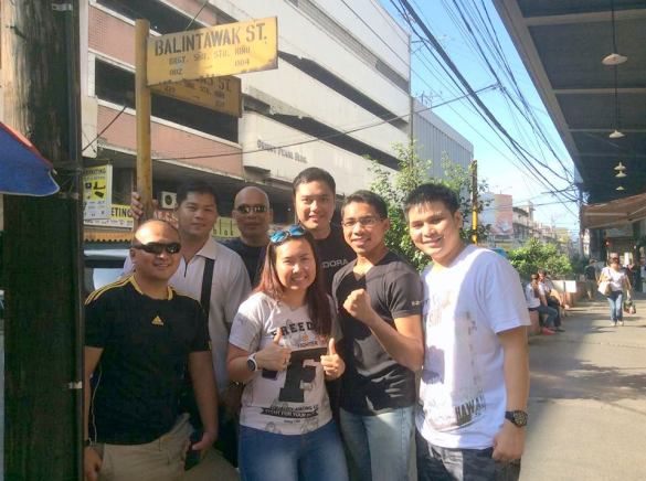 Balintawak Street with AE team