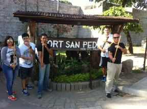 Fort San Pedro with AE
