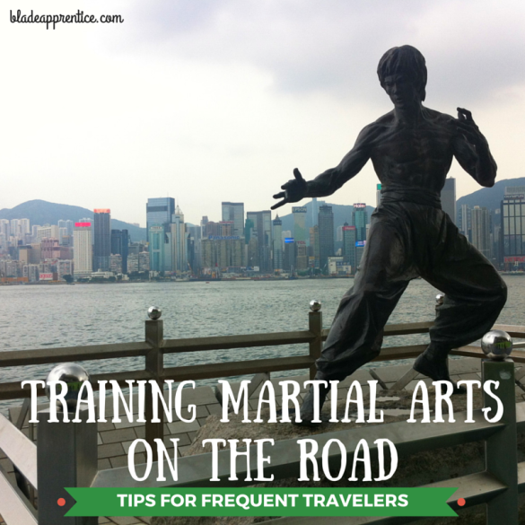 TRAINING MARTIAL ARTS ON THE ROAD
